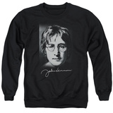 Crewneck Sweatshirt: John Lennon- Sketch Shirts