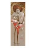 À La Sarah Bernhardt Poster by  Joadoor