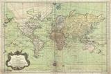 Globe Terrestre Giclee Print by Stephanie Monahan
