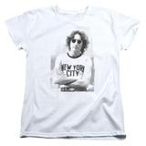 Womens: John Lennon- New York City T-shirts