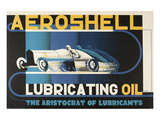 Aeroshell Lubricating Oil Prints