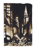 New York Aglow - Lexington Giclee Print by Paul Chojnowski