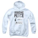 Youth Hoodie: John Lennon- Imagine Peace Pullover Hoodie