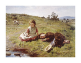 Spring, 1864 Premium Giclee Print by William McTaggart