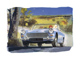 Austin Healy Sprite Posters