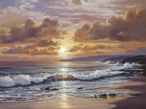 Golden Radiance Giclee Print by Raymond Sipos