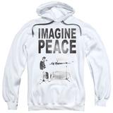 Hoodie: John Lennon- Imagine Peace Pullover Hoodie