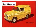 5Cwt Delivery Van Poster