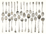 Orchestra of Spoons Giclee Print by Bridget Davies