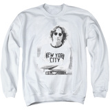 Crewneck Sweatshirt: John Lennon- New York Shirts