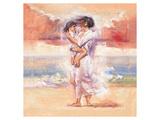 Attectionate Embrace Giclee-tryk i høj kvalitet af Talantbek Chekirov
