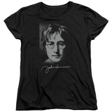 Womens: John Lennon- Sketch T-Shirt