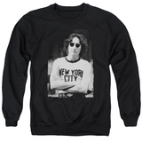 Crewneck Sweatshirt: John Lennon- New York City T-Shirt