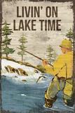 Lake Time Giclée-tryk af Rufus Coltrane
