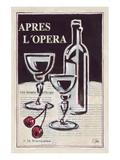 Apres L'Opera Porto Print by Rene Stein