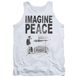 Tank Top: John Lennon- Imagine Peace Tank Top