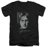 John Lennon- Sketch V-Neck T-shirts