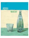 Aqua Minerale Posters par Anna Flores