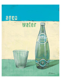 Aqua Minerale Posters by Anna Flores