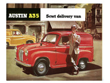 Austin A35 5Cwt Delivery Van Prints