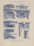 Vintage Motifs d'Architecture II Giclee Print by  Schmidt