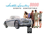 Austin Healey 3000 Convertible Prints