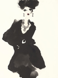 The Little Black Jacket Giclee Print by Bridget Davies