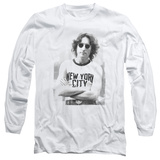 Long Sleeve: John Lennon- New York City Long Sleeves