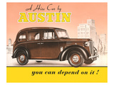 Austin - you Can Depend on it Posters