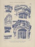 Vintage Motifs d'Architecture I Giclee Print by  Schmidt