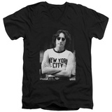 John Lennon- New York City V-Neck T-shirts