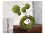 Arrangement in Green I Print by Karsten Kirchner
