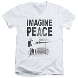 John Lennon- Imagine Peace V-Neck Shirt