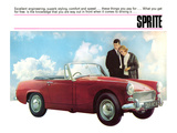 Driving a Sprite Posters