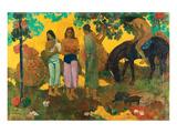 Gauguin-Rupe Rupe La Cueillett Print