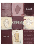 Coffee Concept Posters by Anna Flores
