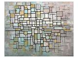 Composition No. II Art par Piet Mondrian