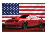 Chrysler - Challenger Hellcat Posters