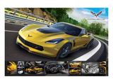 Corvette Stingray with Details Umění