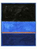 Carmine Thorner - Black and Tangerine Speciální digitálně vytištěná reprodukce