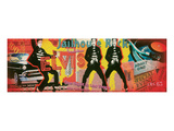 Elvis Collage Prints by  Joadoor