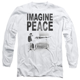 Long Sleeve: John Lennon- Imagine Peace T-Shirt