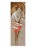 Comme Sarah Bernhardt Poster by  Joadoor
