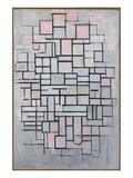 Composition No. IV Affiche par Piet Mondrian