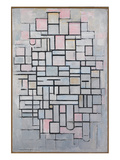 Composition No. IV Print by Piet Mondrian