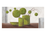Brimming Green Balloons Affiches par Karsten Kirchner