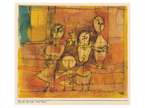 Children and Dog Print by Paul Klee