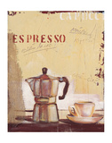 Espresso Posters by Anna Flores