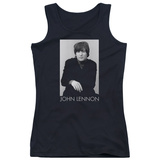 Juniors Tank Top: John Lennon- Solo T-Shirt