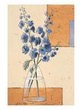 Blue Blossom II Posters by Bjoern Baar